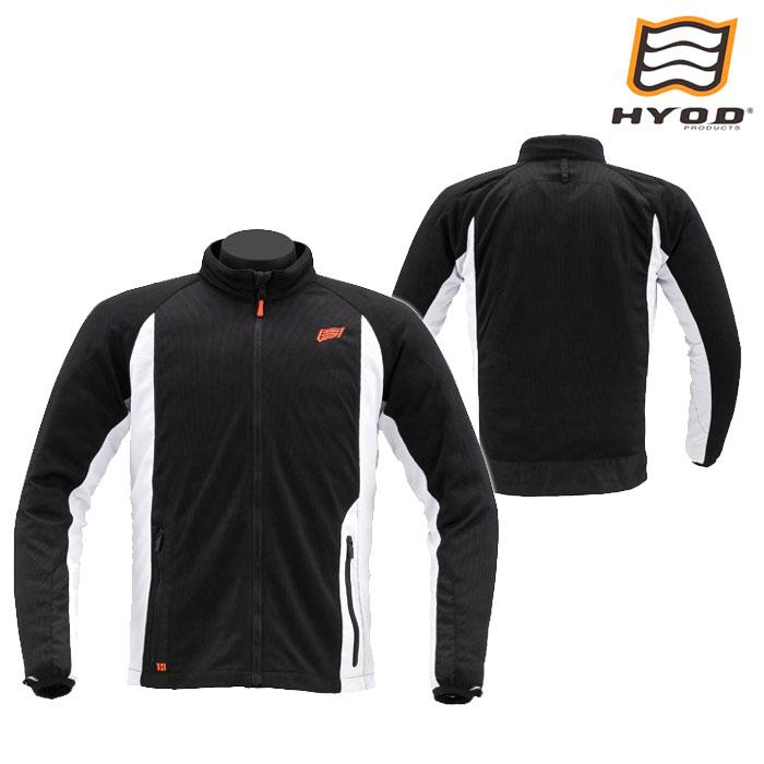 HYOD PRODUCTS STJ201 ST-S SYSTEM MESH JAC メッシュ ジャケット 春夏用 BLACK/WHITE◆全3色◆