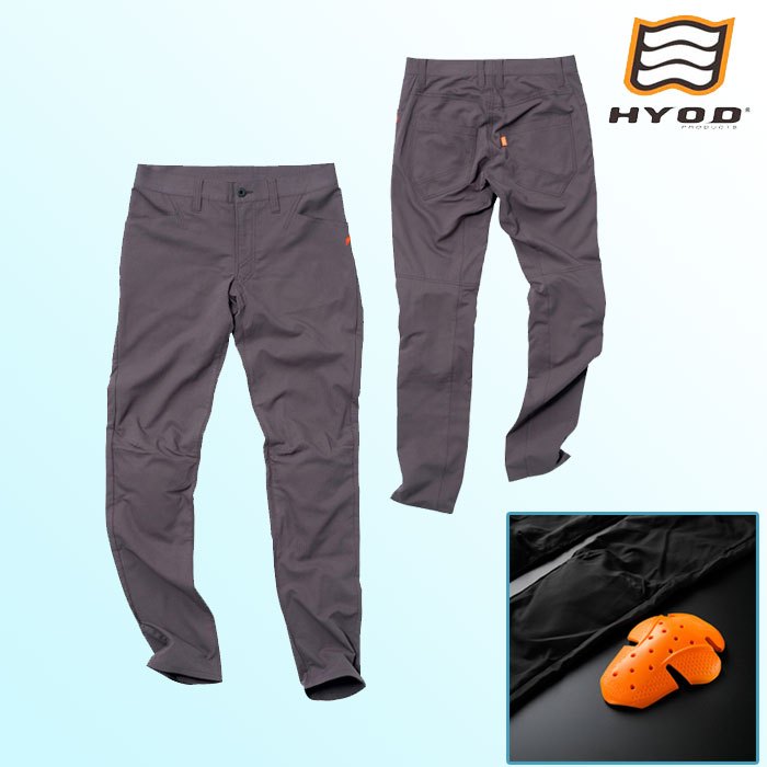 HYOD PRODUCTS STT301D ST-S UCHIMIZU D3O COOL DRY PANTS  クールドライ パンツ 春夏用 グレー◆全4色◆