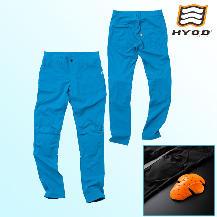 HYOD PRODUCTS STT301D ST-S UCHIMIZU D3O COOL DRY PANTS  クールドライ パンツ 春夏用 ターコイズ