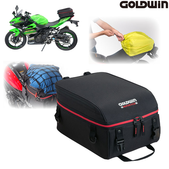GOLDWIN 〔WEB価格〕GSM27807 シートバッグ16 レッド/ブラック◆全2色◆