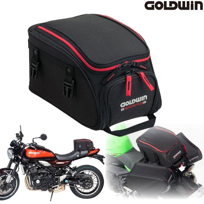 GOLDWIN 〔WEB価格〕GSM27808 シートバッグ8 レッド/ブラック◆全2色◆