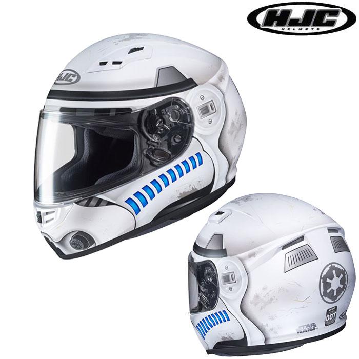 HJC 〔WEB価格〕HJH149 STARWARS CS-15 STORMTROOPER 【スター・ウォーズ ストームトルーパー】 フルフェイスヘルメット