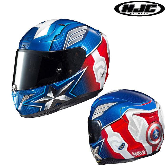 HJC 〔WEB価格〕HJH179 MARVEL RPHA 11  CAPTAIN AMERICA【キャプテンアメリカ】 フルフェイスヘルメット