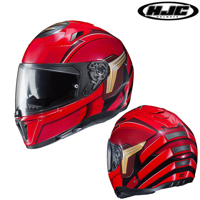 HJC 〔WEB価格〕HJH175 DC COMICS i70 THE FLASH フルフェイスヘルメット