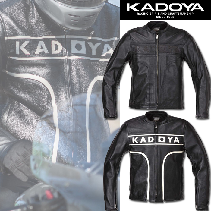 KADOYA 〔WEB価格〕1527 MARK-ONE(マークワン)レザージャケット