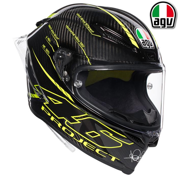 AGV 〔WEB価格〕PISTA GP R PROJECT 46 3.0 S【ピスタGP R プロジェクト】 フルフェイス ヘルメット