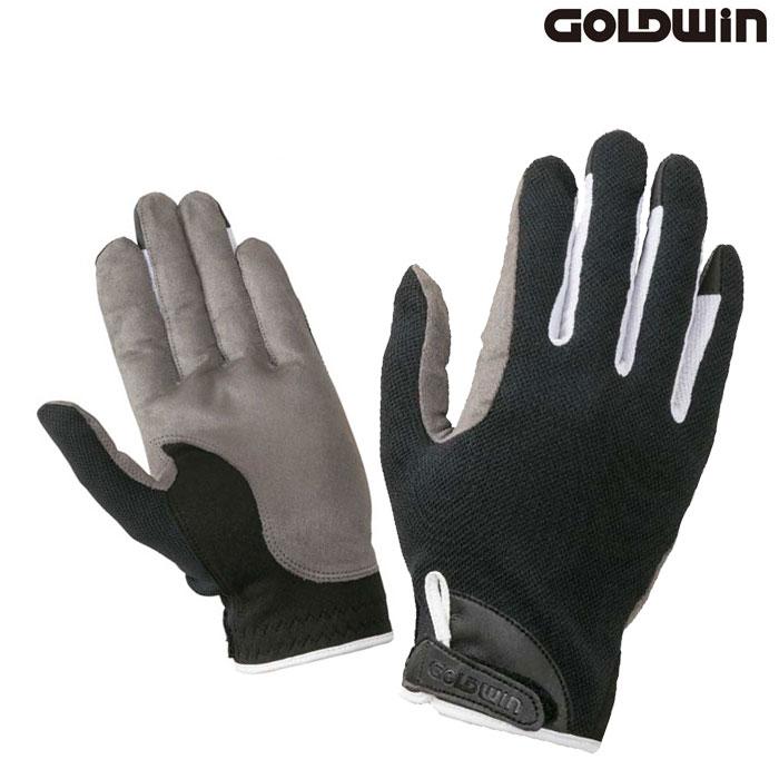GOLDWIN 〔WEB価格〕★新作★GSM26902 ライトサマーグローブ ブラック×ホワイト(KW)◆全3色◆