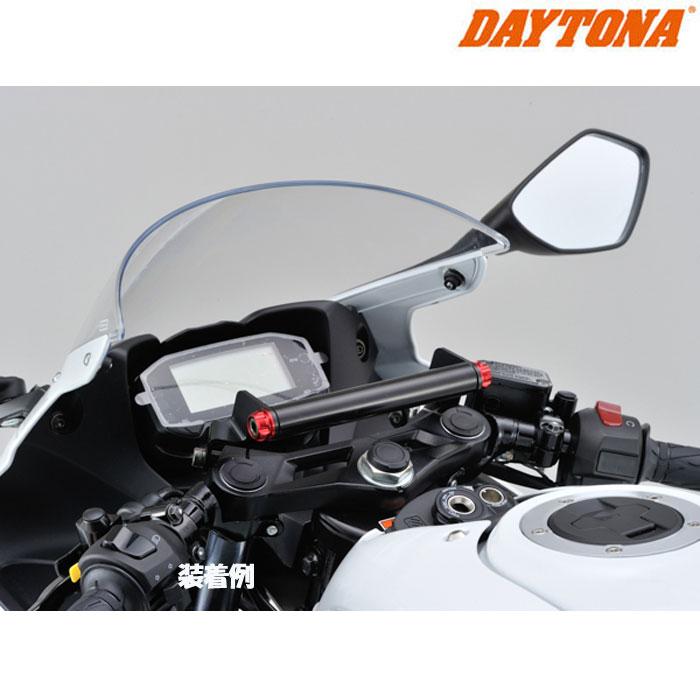 DAYTONA 95898 車種別マルチバーホルダー キャップボルトカラーM8 レッド GSX-R125('18) (AL8~9)