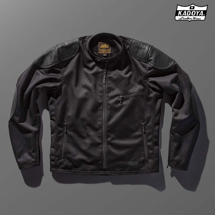 KADOYA 6228 OLD MANX オールドマンクス メッシュ ジャケット 春夏用ブラック ◆全3色◆