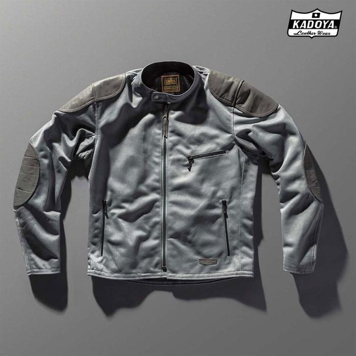 KADOYA 6228 OLD MANX オールドマンクス メッシュ ジャケット 春夏用グレー ◆全3色◆
