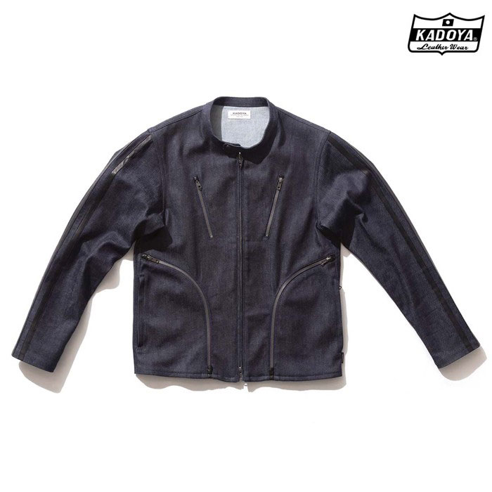 KADOYA 6245 CORSA DENIM JKT デニム ジャケット  春夏用ネイビー ◆全2色◆