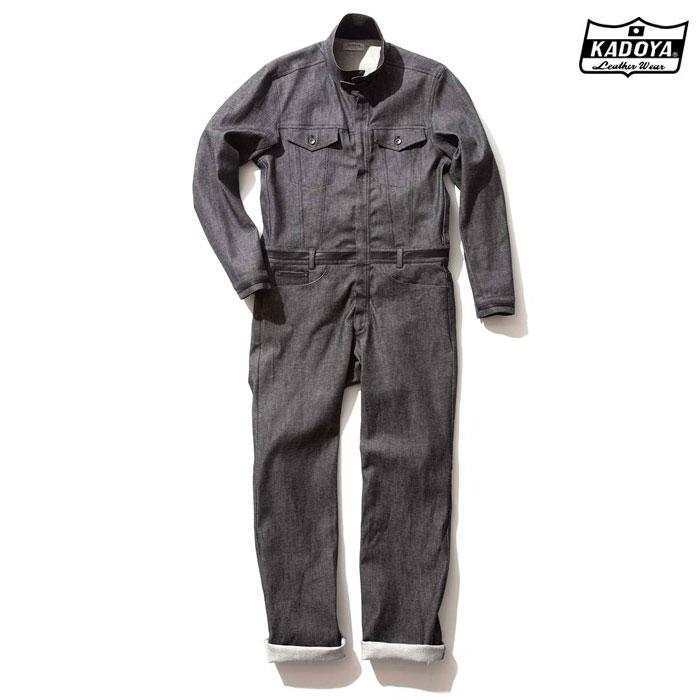 6244 CORSA DENIM SUITS デニム スーツ つなぎ 春夏用ブラック ◆全2色◆