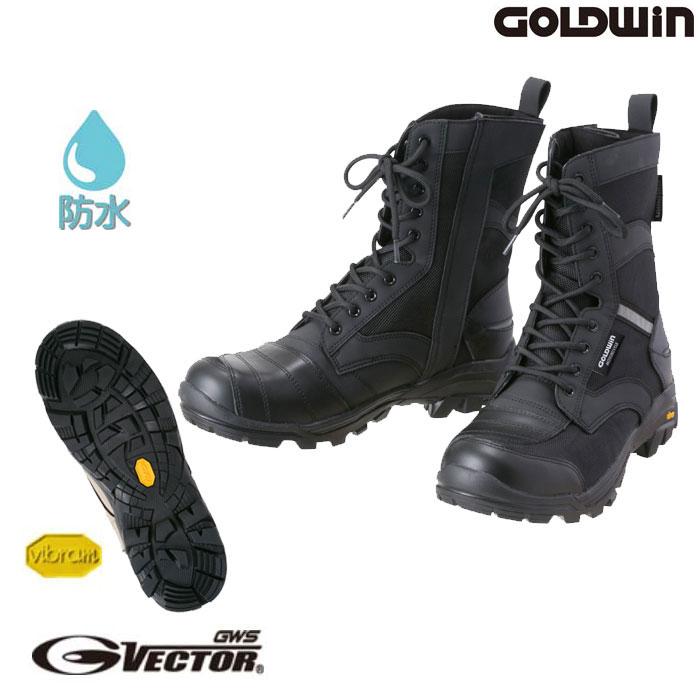 GOLDWIN 〔WEB価格〕GSM1055 GベクターX‐OVERブーツ 防水/透湿/防風/防水ブーツ ブラック(K)◆全2色◆ ☆MONOマガジン2020年3月16日号掲載☆