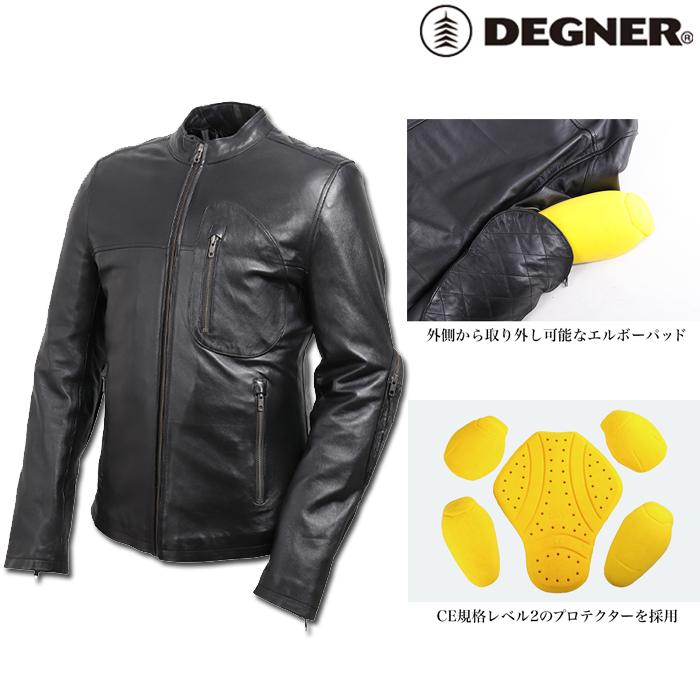DEGNER 19SJ-1 レザージャケット/LEATHER JACKET