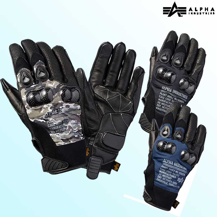 ALPHA 〔WEB価格〕ALVG-1901S ALP HARD PROTECTION MESH グローブ