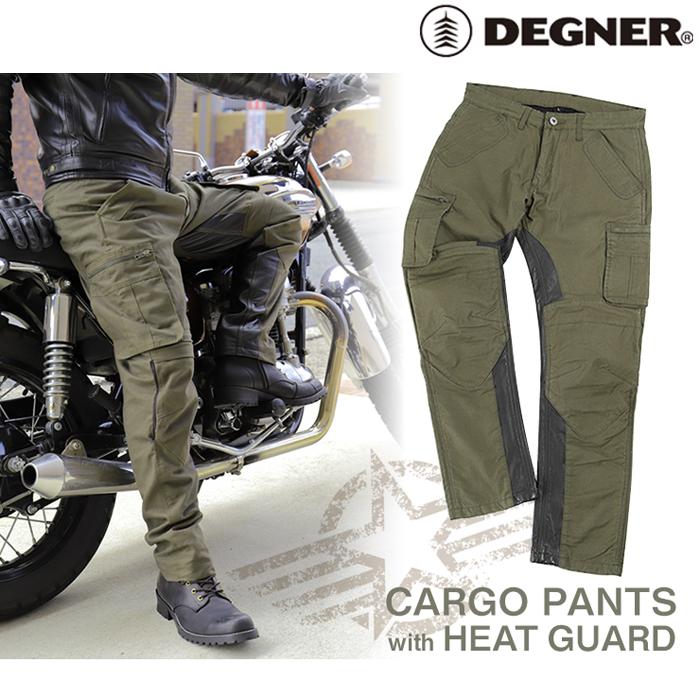DEGNER DP-30 メンズカーゴパンツ/ MEN'S CARGO COTTON PANTS (カーキ) 春夏用