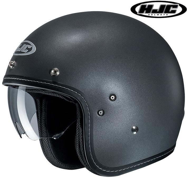 HJC HJH168 FG-70S SOLID 【ソリッド】 ジェットヘルメット