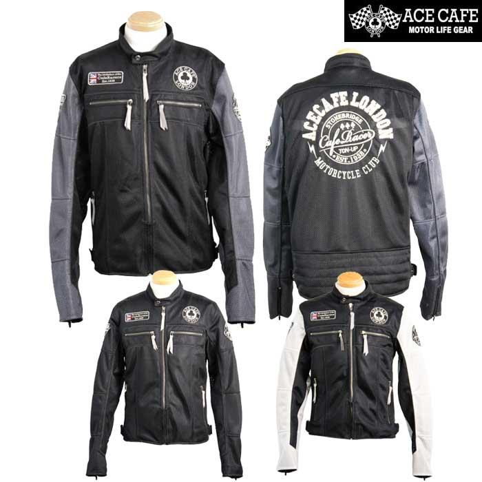 ACE CAFE LONDON 〔WEB価格〕SR1901MJ ライディングメッシュジャケット