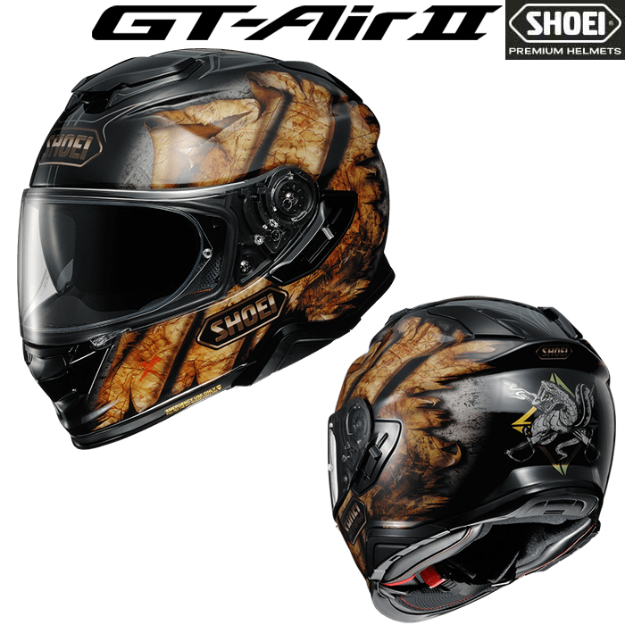 SHOEI ヘルメット GT-Air II DEVIATION 【デヴィエーション】 フルフェイス ヘルメット