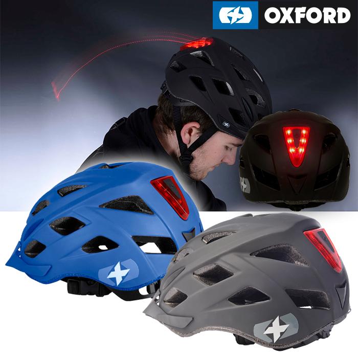 OXFORD 【WEB限定】ME METRO-V 【メトロ-V】ヘルメット 自転車用ヘルメット 後方LED発光/夜間安心