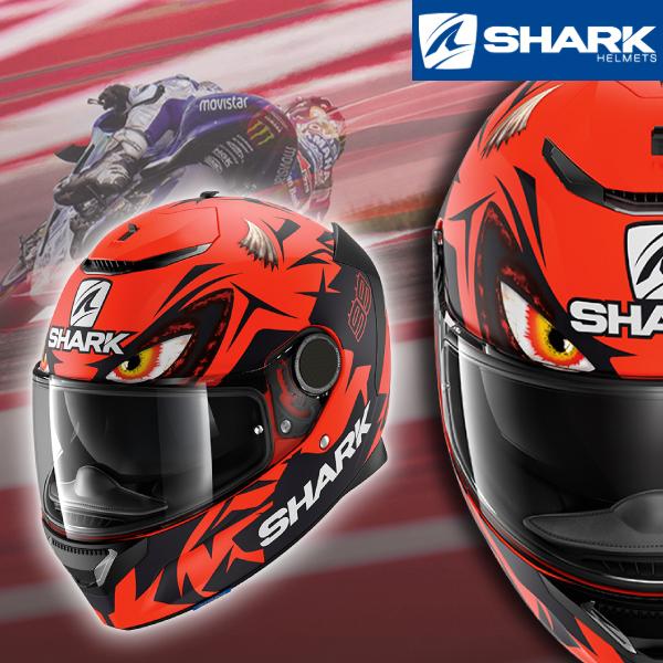 SHARK 〔WEB価格〕SPARTAN REPLICA LORENZO AUSTRIAN GP MAT 【スパルタンレプリカロレンソ GP】 フルフェイスヘルメット
