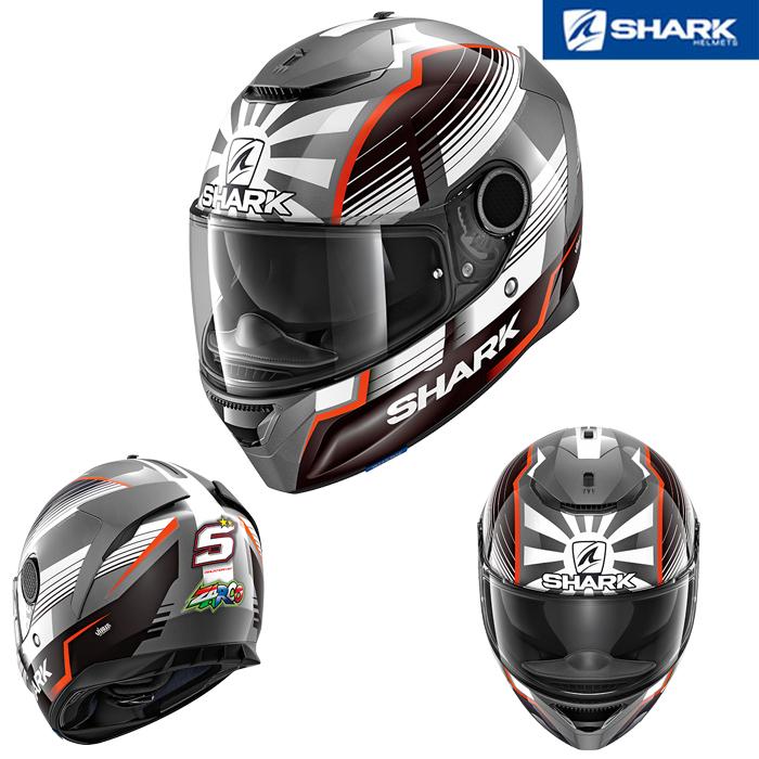 SHARK 〔WEB価格〕SPARTAN REPLICA ZARCO MALAYSIAN GP 【スパルタン レプリカ ザルコ マレーシアン GP】 フルフェイスヘルメット