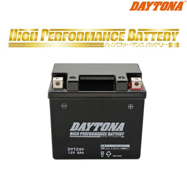 DAYTONA 98308 ハイパフォーマンスバッテリー DYTZ6V