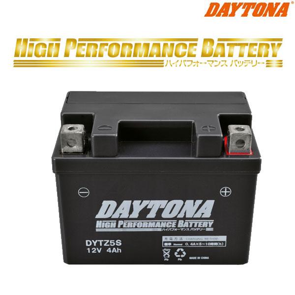 DAYTONA 98309 ハイパフォーマンスバッテリー DYTZ5S