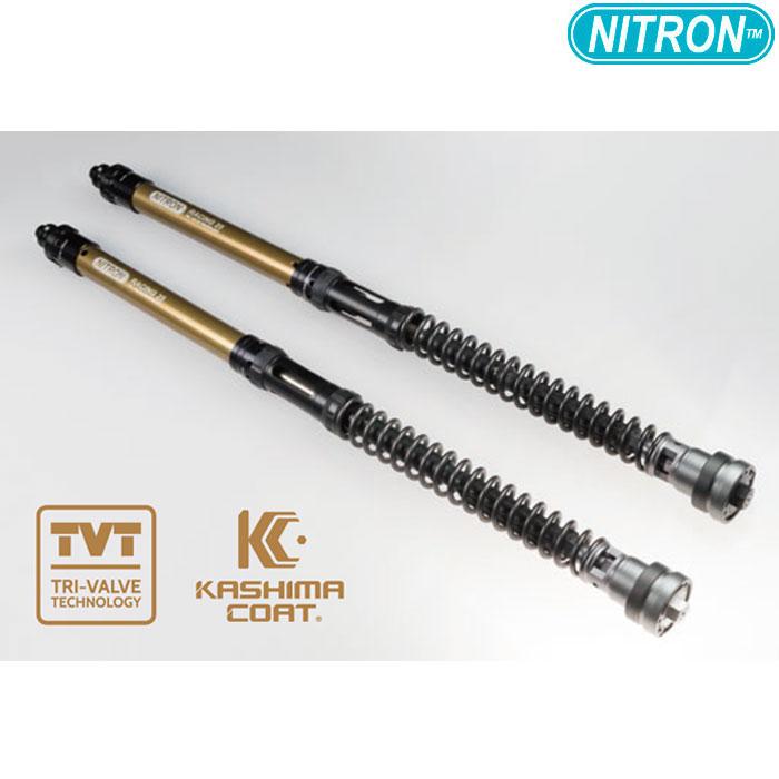 NITRON 【お取り寄せ】 NTFK25KA10K フロントフォークカートリッジ NTR TVT PRO Z900RS / CAFE (~2017) / SR500 (ALL)〔決済区分:代引き不可〕
