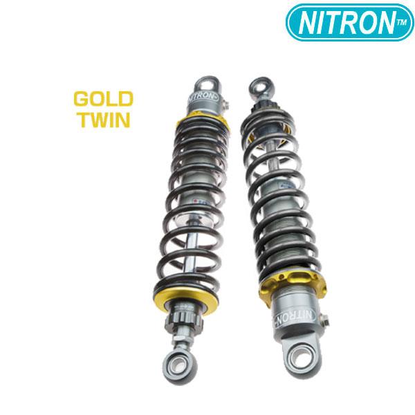 NITRON 【お取り寄せ】TSH81SG-BK リアショック TWIN Shock TWIN R1 Series  FORZA(2018)〔決済区分:代引き不可〕