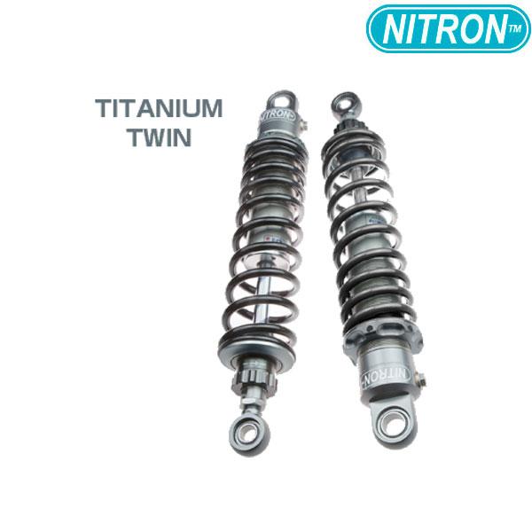 NITRON 【お取り寄せ】TSY05ST-BK リアショック TWIN Shock TWIN R1 Series  NMAX(2018~)〔決済区分:代引き不可〕