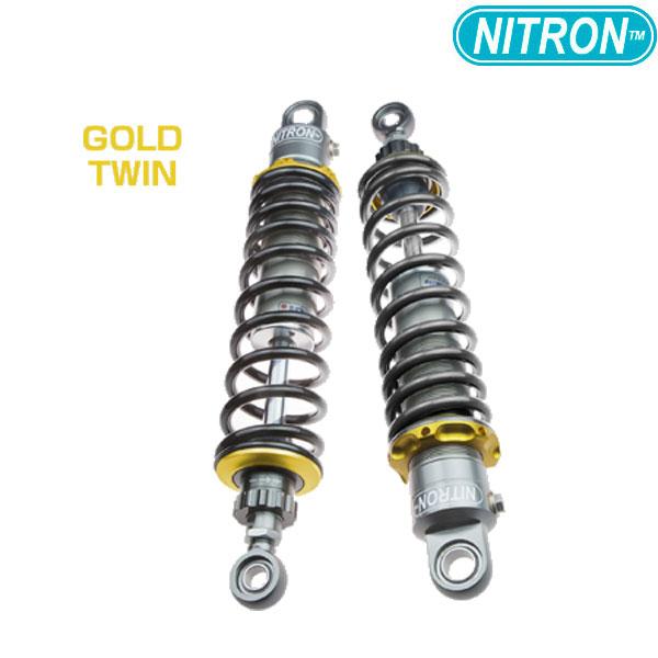 NITRON 【お取り寄せ】TSY05SG-BK リアショック TWIN Shock TWIN R1 Series  NMAX(2018~)〔決済区分:代引き不可〕