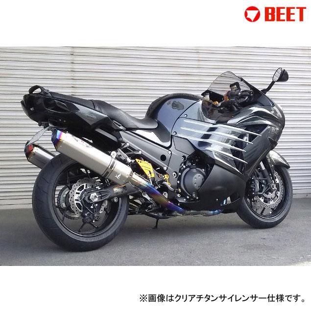 BEET JAPAN NASSERT Evolution Type II T-2 フルエキゾーストマフラー 政府認証 Ninja ZX-14R ABS 用(2016~) 型式[ZXT40H,ZXT40J]