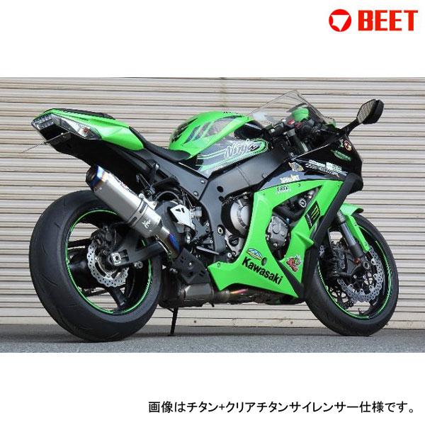 BEET JAPAN NASSERT Evo TypeII スリップオン 政府認証 ZX-10R(2011~2015)型式[ZXT00J、ZXT00K]