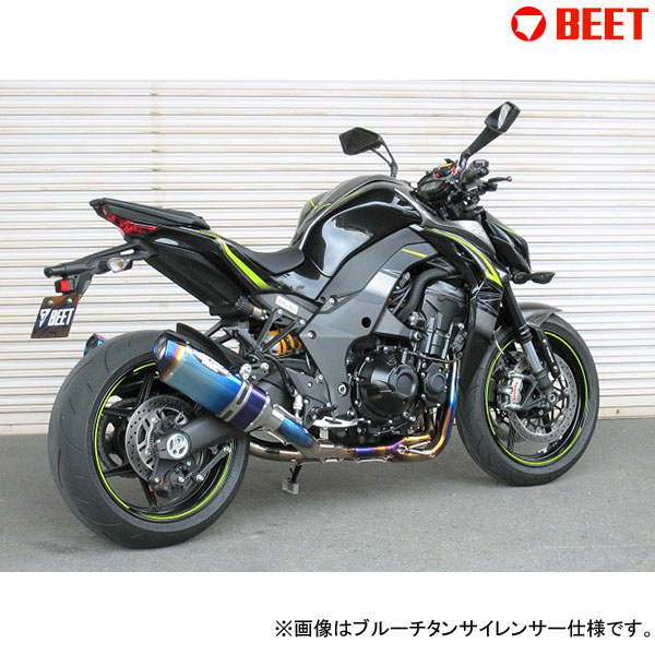 BEET JAPAN R Edition NASSERT Evolution TypeⅡ T-2 マフラー 政府認証 Z1000(2017~)