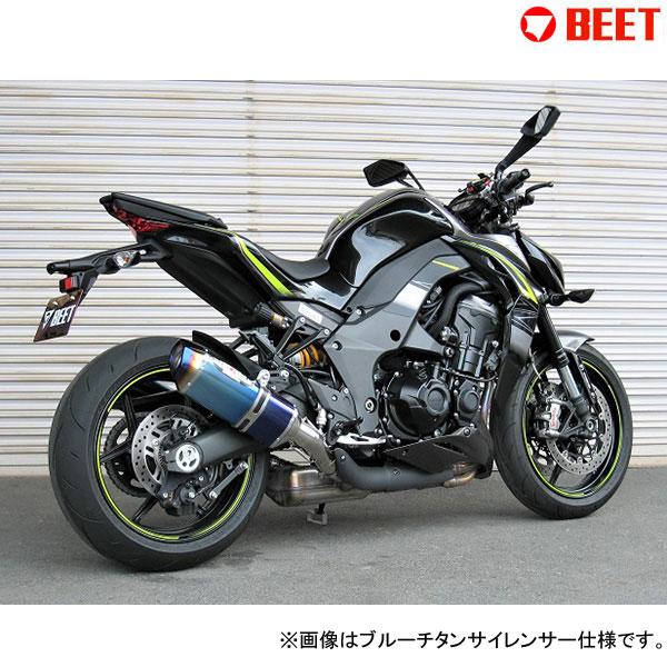 BEET JAPAN R Edition NASSERT Evolution TypeⅡ T-2 スリップオンマフラー 車検対応 政府認証 Z1000(2017~)