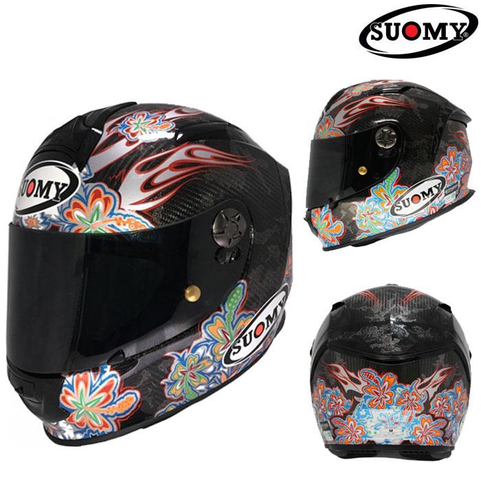 スオーミー SSRX002 SR-SPORT CARBON FLOWER  [カーボン フラワー] フルフェイスヘルメット