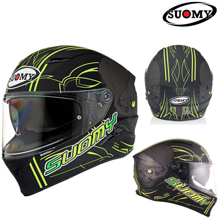 スオーミー 〔WEB価格〕SVR0012 SPEEDSTAR AMLET YELLOW 【スピードスター アムレット イエロー】フルフェイスヘルメット