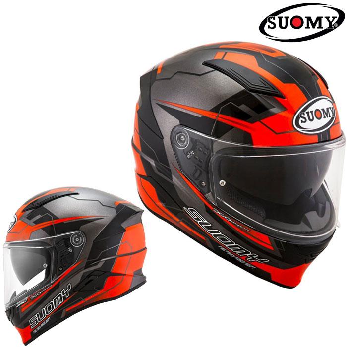 スオーミー 〔WEB価格〕SVR0026 SPEEDSTAR CAMSHAFT OR 【スピードスター カムシャフト オレンジ】フルフェイスヘルメット