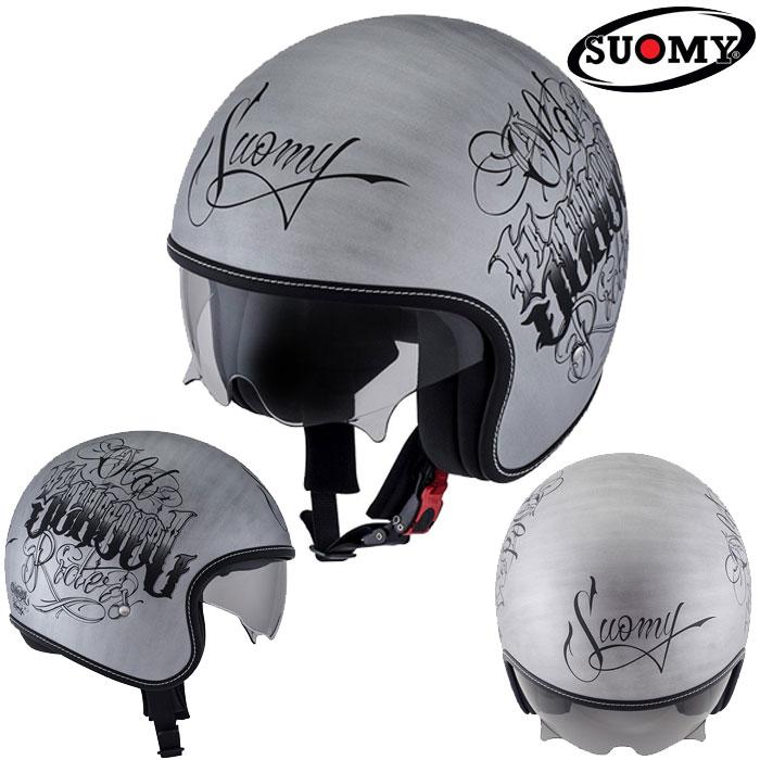 スオーミー 〔WEB価格〕SRK0001 ROKK OLDSCHOOL SL 【ロック オールドスクールSL】ジェットヘルメット