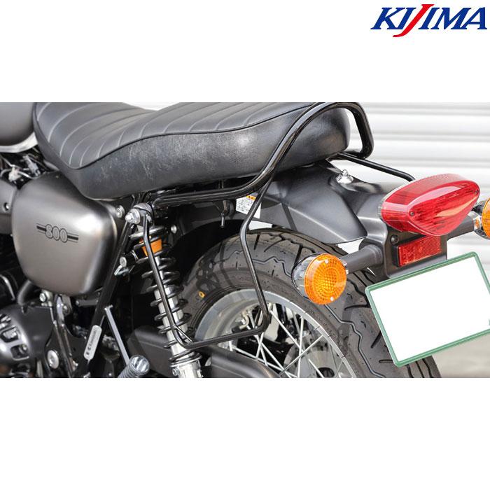 KIJIMA 〔WEB価格〕210-4971 バッグサポート ブラック W800(ストリート/カフェ)/650/400 左側用