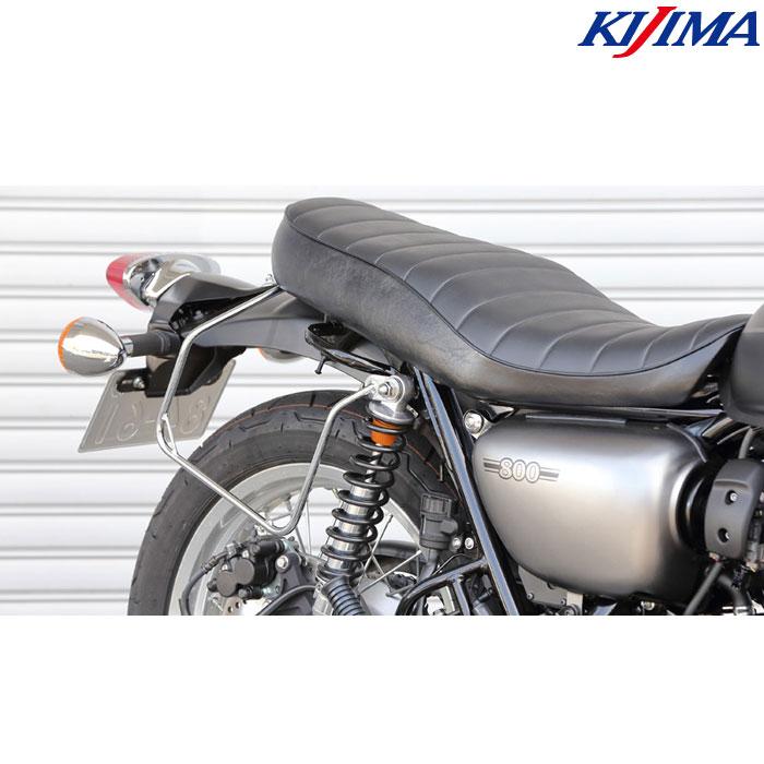 KIJIMA 〔WEB価格〕210-4982 バッグサポート クロームメッキ W800(ストリート/カフェ)/650/400 右側用