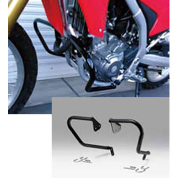 KIJIMA ENGINE GUARD【 エンジンガード】CRF250L/M/RALLY・LD ブラック