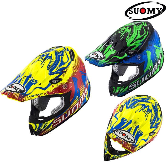 スオーミー 〔WEB価格〕MR.JUMP GRAFFITI 【グラフィティ】オフロードヘルメット