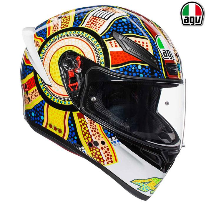 AGV 【通販限定】『アウトレット品』 K1 DREAMTIME【ドリームタイム】フルフェイスヘルメット