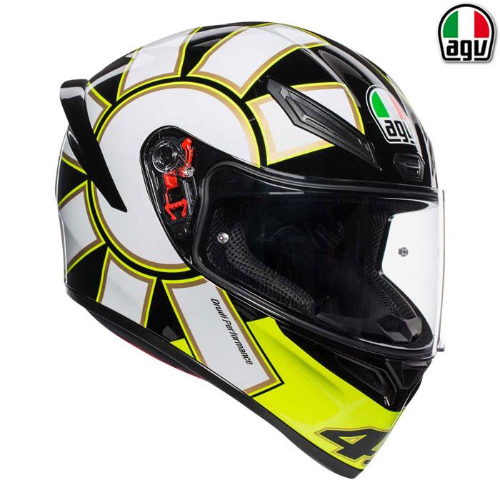 AGV 【通販限定】『アウトレット品』  K1 GOTHIC 46【ゴシック】フルフェイスヘルメット
