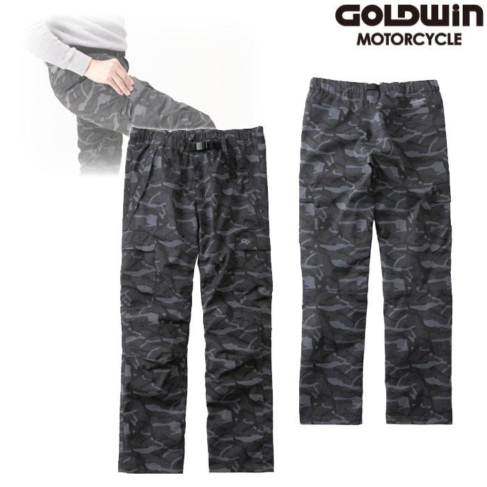 GOLDWIN GSM23952 GWM マルチライドウォームパンツ ブラックカモ ◆全3色◆