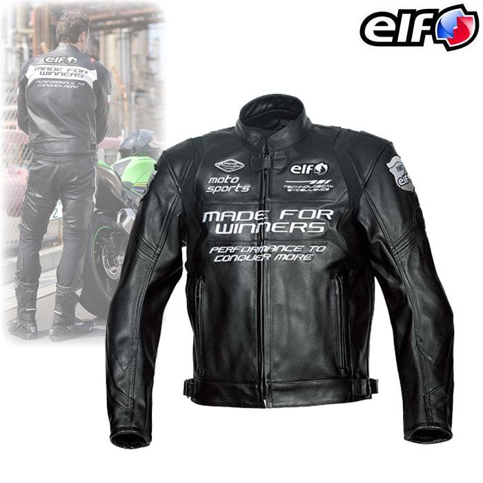 elf ELJ-A01 スポルトレザージャケット ブラック◆全3色◆