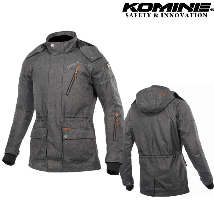 komine JK-601 Protect Urban W-Coat プロテクトアーバンウィンターコート グレー