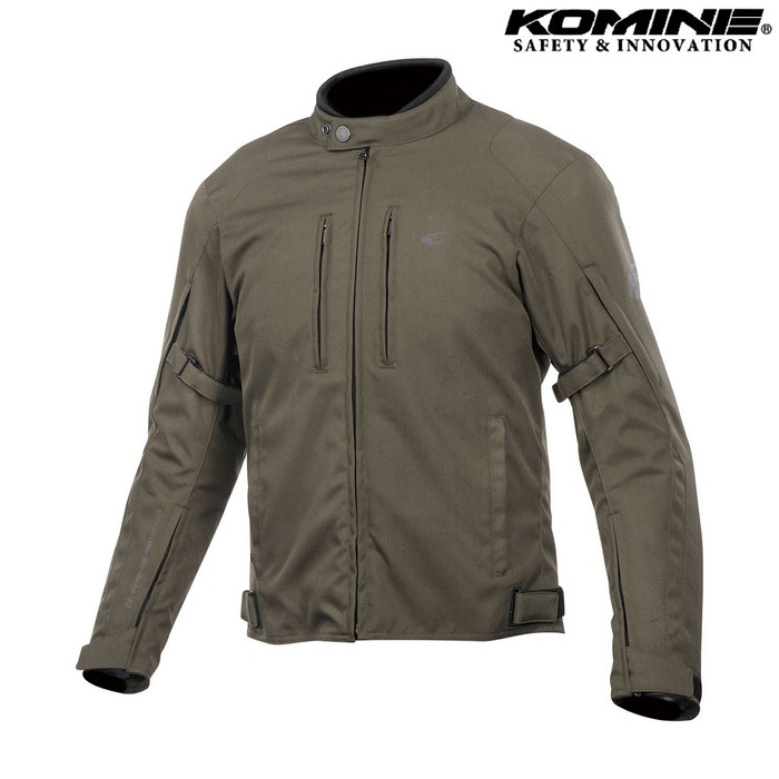 komine JK-603 Protect W-JKT プロテクトウィンタージャケット オリーブ ◆全5色◆